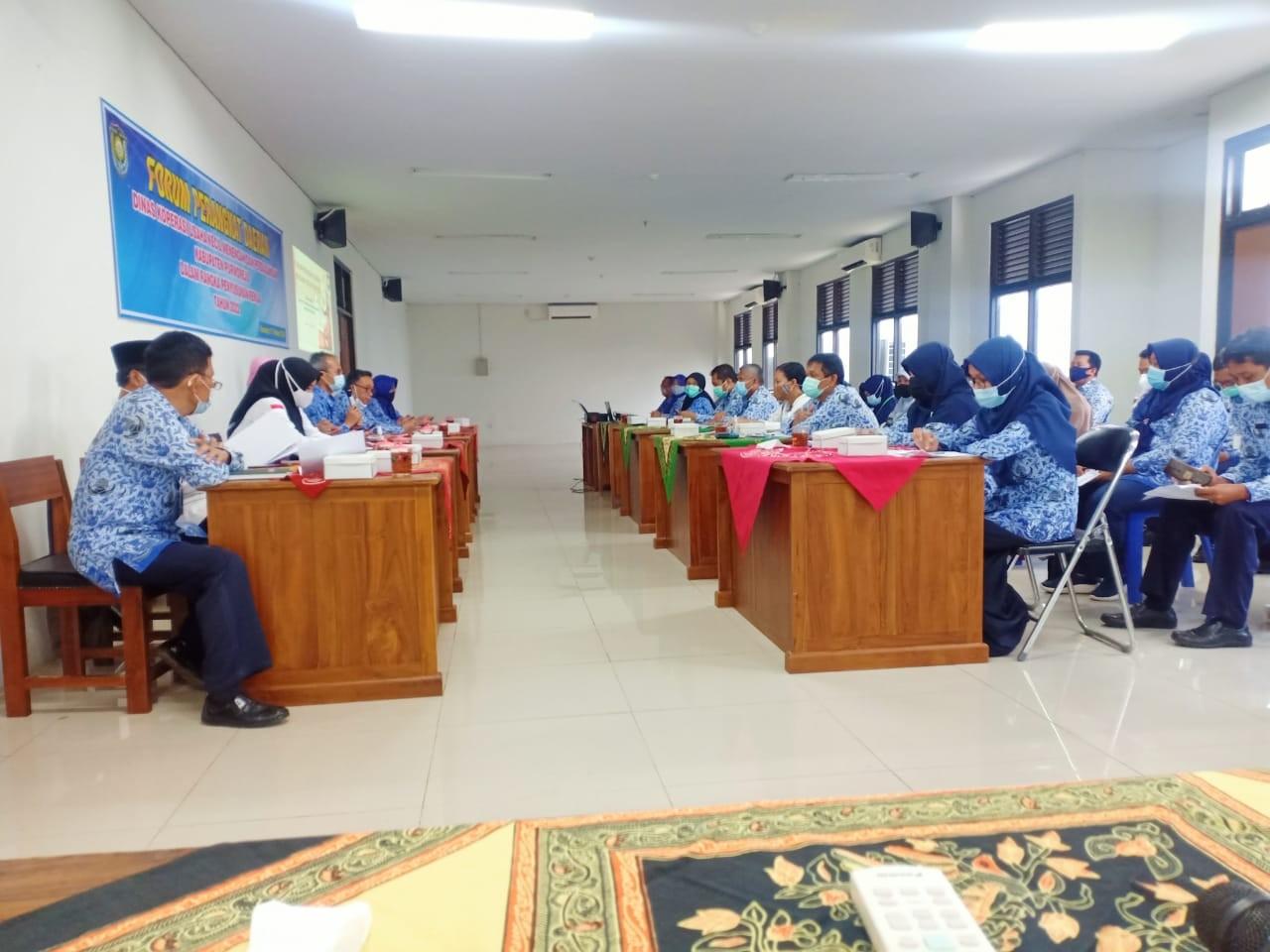 Forum Perangkat Daerah Rencana Kerja Tahun 2022 Dinas KUKMP