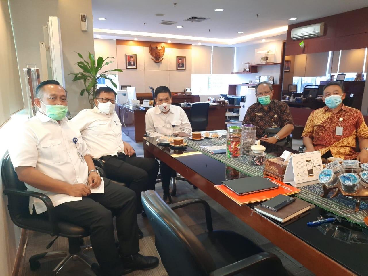 Konsultasi Kegiatan Pembangunan dan Pengelolaan Sarana Distribusi Perdagangan di Kementerian Perdagangan Jakarta