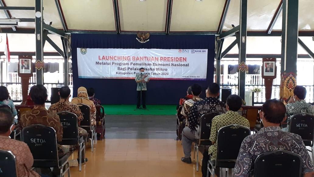Launching Bantuan Presiden Melalui Bantuan Produktif Usaha Mikro (BPUM)