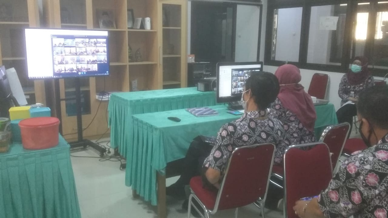 Dinas KUKMP Ikuti Musrenbang RKPD Tahun 2021 Secara Online