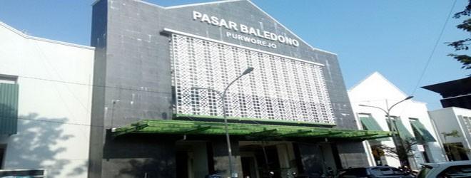 Pendaftaran Menempati Kios/Los Pasar Baledono (Ulang)