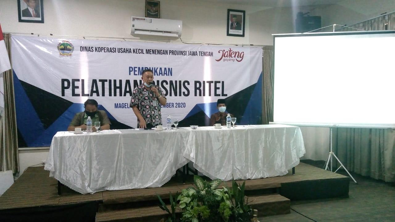 Pelatihan Bisnis Ritel Pengurus Koperasi KPRI Kabupaten Purworejo