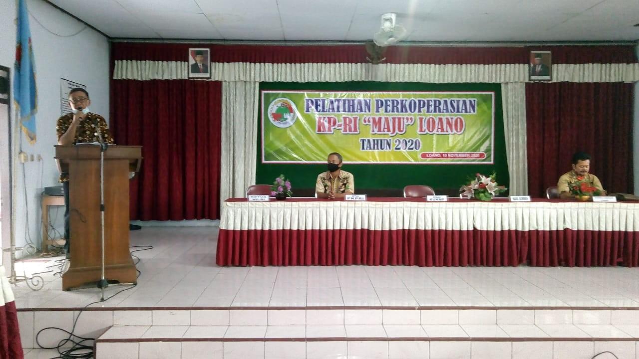 Pelatihan Perkoperasian KPRI Maju Kecamatan Loano