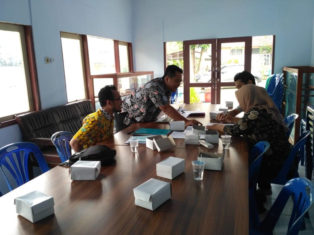 Pembahasan Draft Perbup Retribusi Pelayanan Tera/Tera Ulang