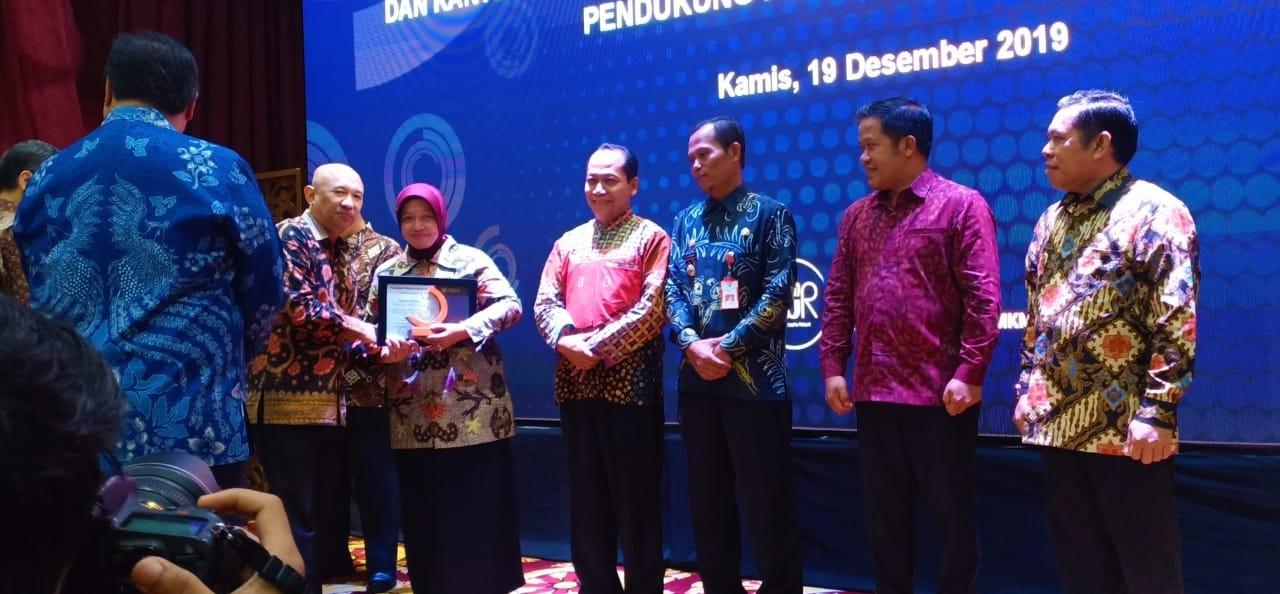 Pemkab Purworejo Memperoleh Penghargaan Terbaik II Pendukung Program KUR 2019