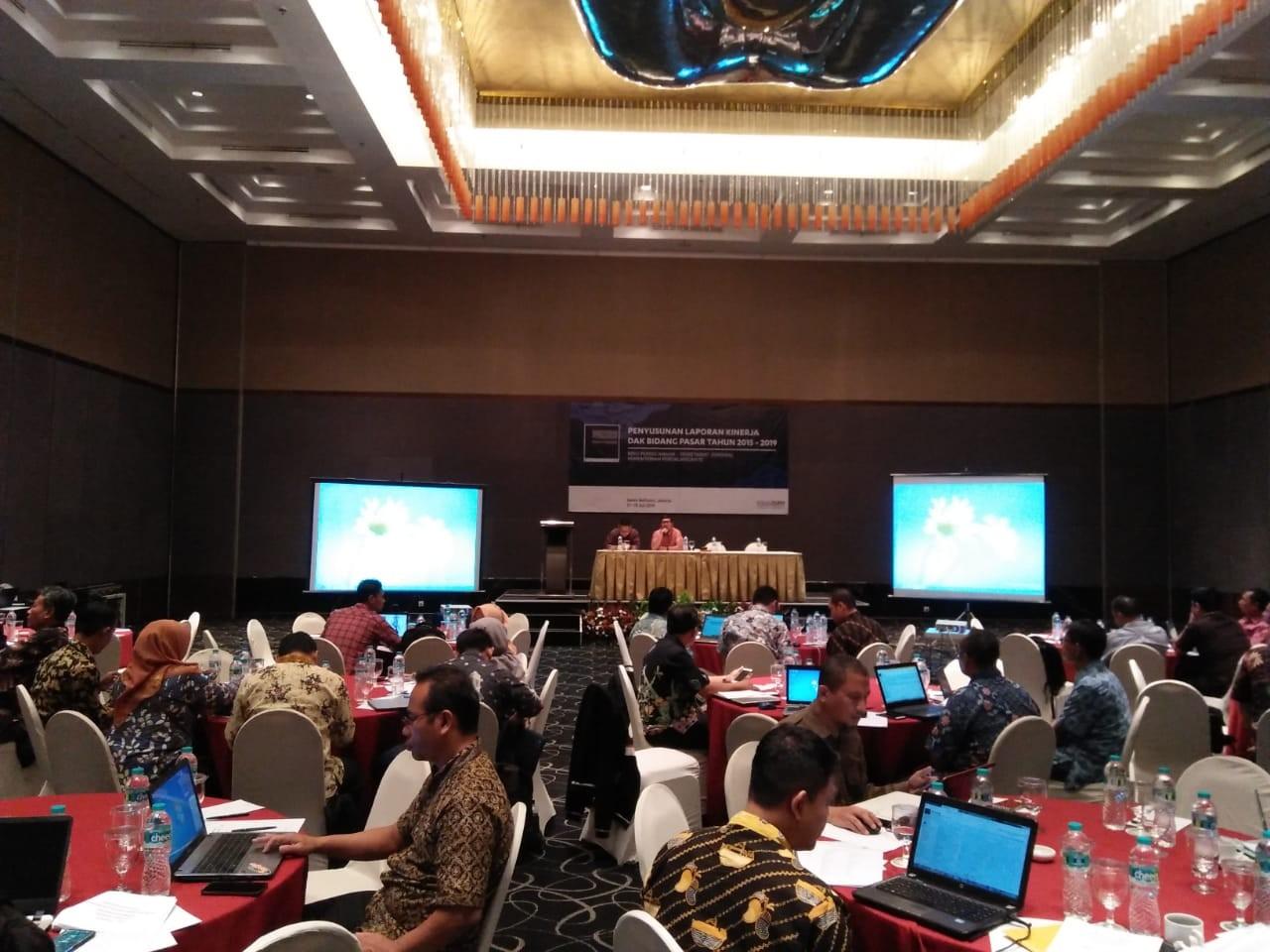 Penyusunan Laporan dan Penyempurnaan Data DAK Bidang Pasar Tahun 2015-2019
