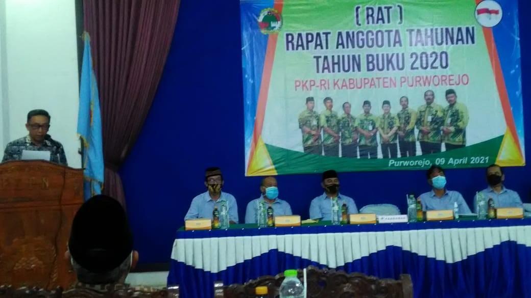 RAT Tutup Buku PKPRI Kabupaten Purworejo