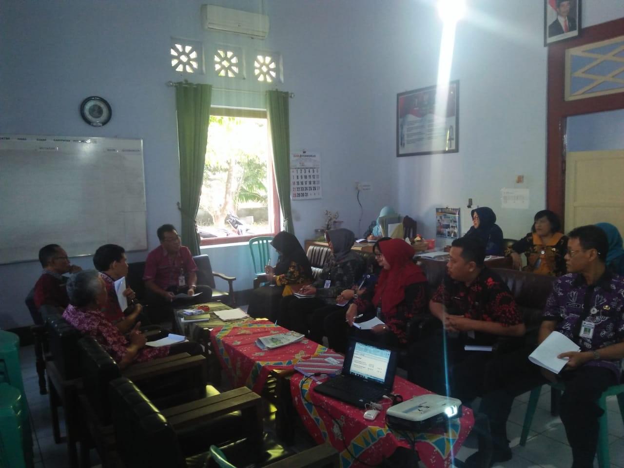 Rapat Pejabat Struktural Dinas KUKMP Kab. Purworejo