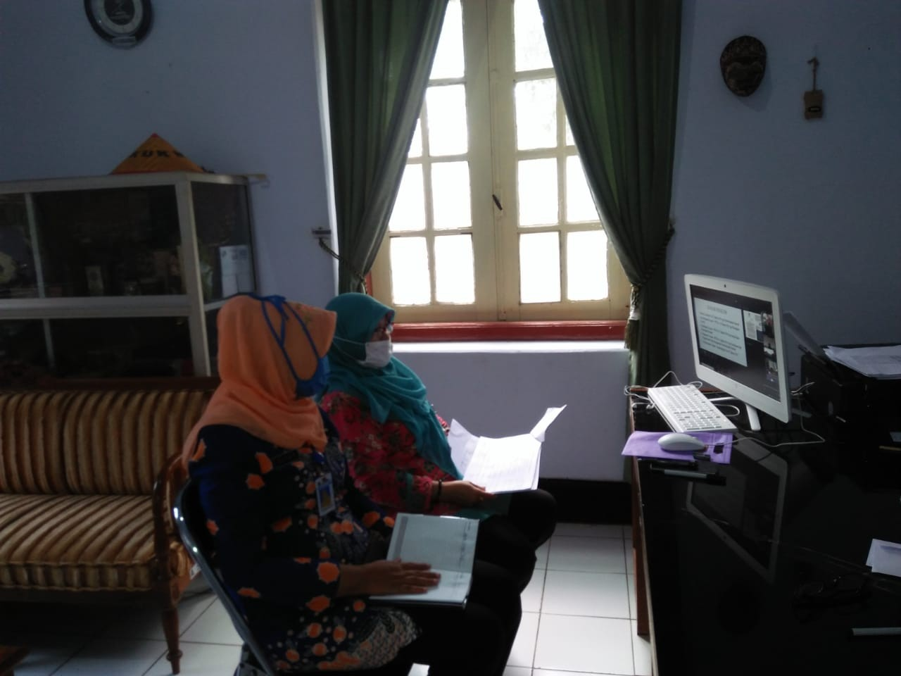 Mapping Program Dan Kegiatan Rancangan Akhir RKPD Tahun 2021 Melalui Video Conference