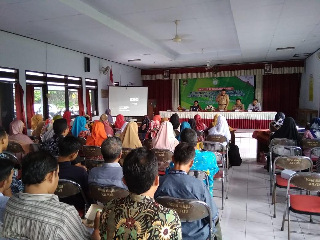 Evaluasi Kegiatan Fasilitasi Inkubasi Bisnis di Wilayah Kecamatan Loano, Gebang dan Bener