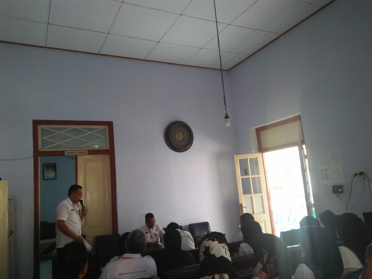 Perkenalan Drs. Bambang Susilo Sebagai Kepala Dinas KUKMP Kab. Purworejo