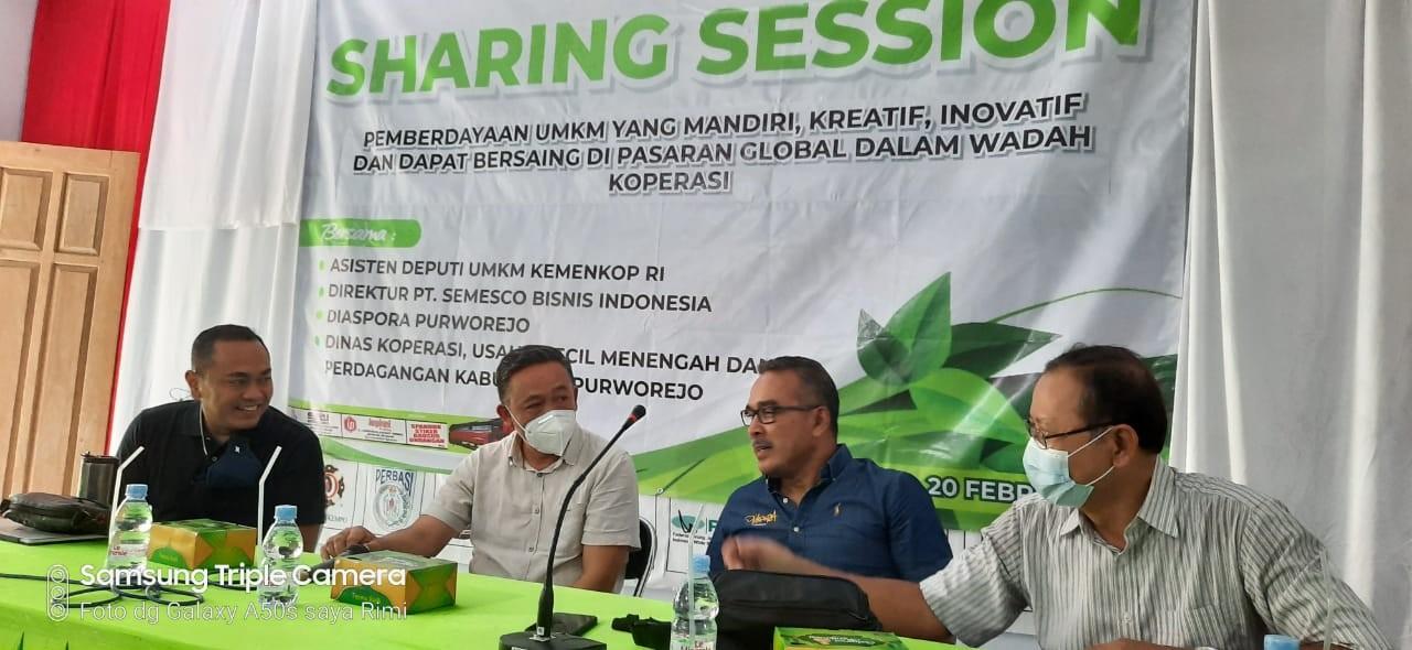 Sharing Session Pemberdayaan UMKM Mandiri